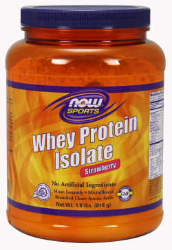 WHEY PROTEIN ISOLATE STRAWBERRY, 2 LBS