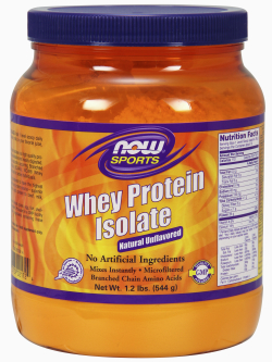 WHEY PROTEIN ISOLATE PURE, 1 LB