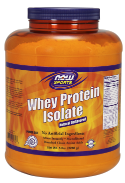 WHEY PROTEIN ISOLATE PURE, 5 LB