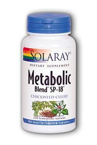 Solaray: Metabolic Blend SP-18 100ct