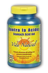 Natures Life: Contra la Acidez/ Stomach Acid Aid 60 ct