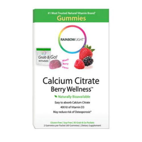 RAINBOW LIGHT: Calcium Berry Wellness Gummy 30 pkt