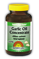 Natures Life: Garlic Oil Concentrate 100 Softgel