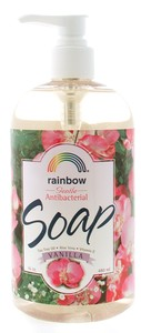 Rainbow Research: Soap,antibac,vanilla 16 OZ