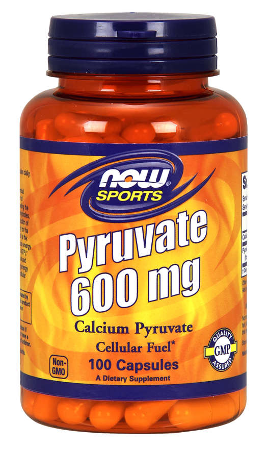 NOW: Calcium Pyruvate 600mg 100 Caps