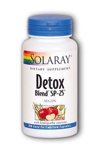 Solaray: Detox Blend SP-25 100ct
