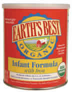 Earths Best (Hain): Infant formula w iron,og 13.2 OZ