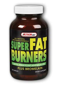 Action Labs: Super Fat Burners (Lipotropic Formula) 120ct