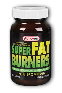 Action Labs: Super Fat Burners (Lipotropic Formula) 60ct