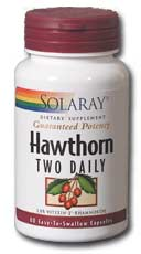 Solaray: Hawthorn Two Daily 300mg 60ct 300mg