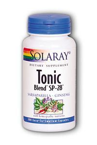 Solaray: Tonic Blend SP-28 100ct