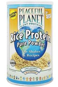 Veglife: Organic Rice Protein Energy Powder (Unflavored) 16.8 oz Pwd
