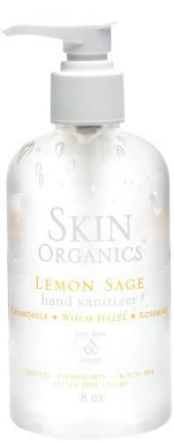 Skin by Ann Webb: Lemon Sage Hand Sanitizer 8oz