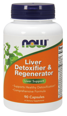 NOW: Liver Refresh Detoxifier and Regenerator 90 Caps