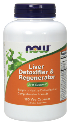 NOW: Liver Refresh Detox and Regenerator 180 Caps
