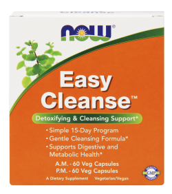 NOW: Easy Cleanse AM And PM 2 Btls Box