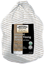Organic Prairie: Turkey,og,net 10-13lbs 4 BOX