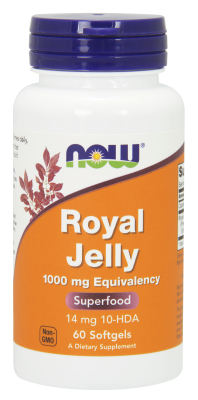 NOW: ROYAL JELLY 1000mg  60 SGELS 1