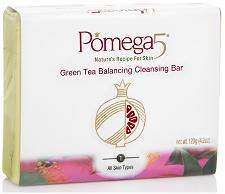 POMEGA INC: BALANCING CLEANSING BAR GREEN TEA 120G