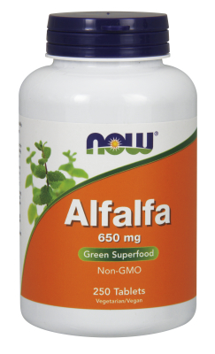 NOW: ALFALFA 10 GRAIN  250 TABS 250 tabs