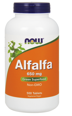 NOW: ALFALFA 10 GRAIN  500 TABS 500 tabs
