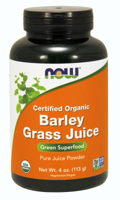 Organic Barley Grass Juice Powder, 4 oz