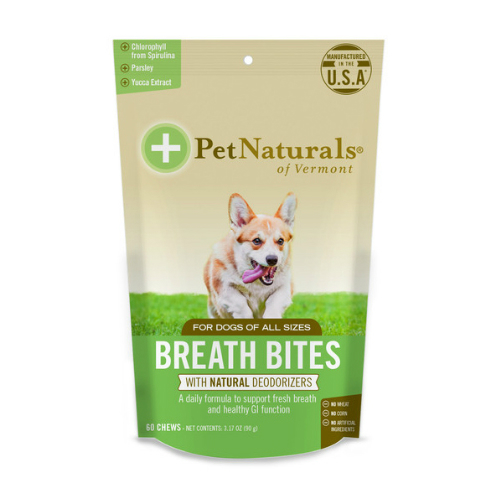 PET NATURALS OF VERMONT: Breath Bites for Dogs 60 chew