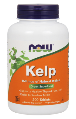 NOW: KELP 150mcg  200 TABS 1