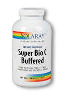 Solaray: Super bio c - buffered 360ct 1000mg