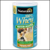 NATURADE: 100  Whey Protein Chocolate 14 oz