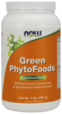 GREEN PHYTOFOODS POWDER 2 lb from NOW
