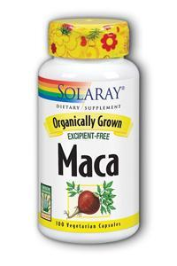 Solaray: Organic Maca Root 500mg 100ct