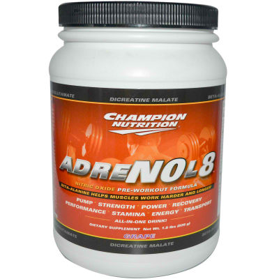 CHAMPION NUTRITION: ADRENOL-8 GRAPE 820 GRAM