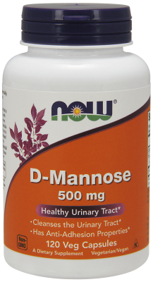 D-MANNOSE 500MG   120 CAPS, 1