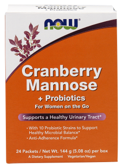 Cranberry Mannose Plus Probiotics packets, 24 packets