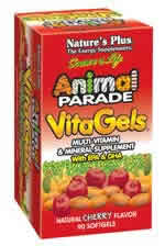Natures Plus: Animal Parade VitaGels with EPA and DHA 90 softgels - Essential FA