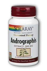 Solaray: Andrographis 60ct 300mg
