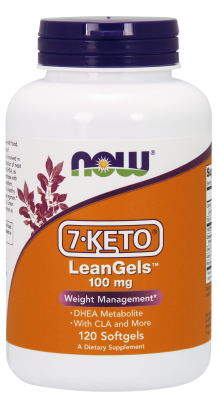 NOW: 7-KETO LeanGels 100 mg 120 Gels