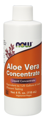 NOW: ALOE VERA CONC GEL   4 OZ 4 OZ