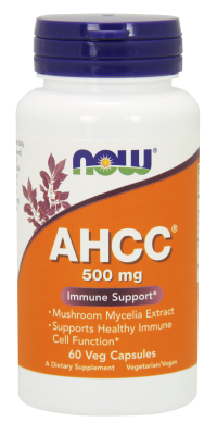 NOW: AHCC 500 mg 60 Vcaps