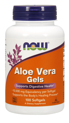 NOW: ALOE VERA 5000mg  100 SGELS 100 SOFTGELS