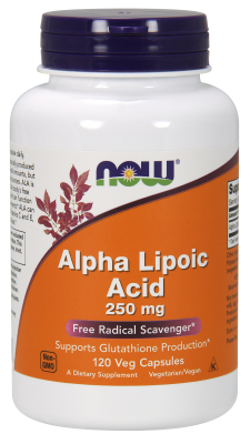 NOW: ALPHA LIPOIC ACID 250mg 120 CAPS