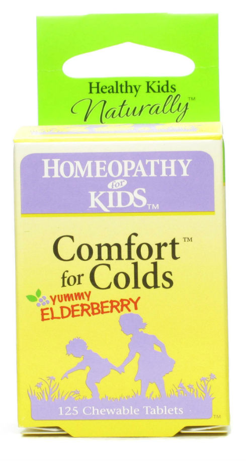 HERBS FOR KIDS: Comfort for Allergies Raspberry Chewable 125 tab
