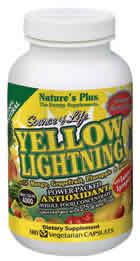 Natures Plus: Source of Life Yellow Lightning 180 Vcaps