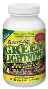 Source of Life Green Lightning, 180 Vcaps