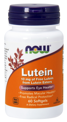 NOW: LUTEIN ESTERS 20mg 60 SGELS 1