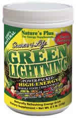 Source of Life Green Lightning Energy Drink, 0.5 lb. (230g) Jars Powder