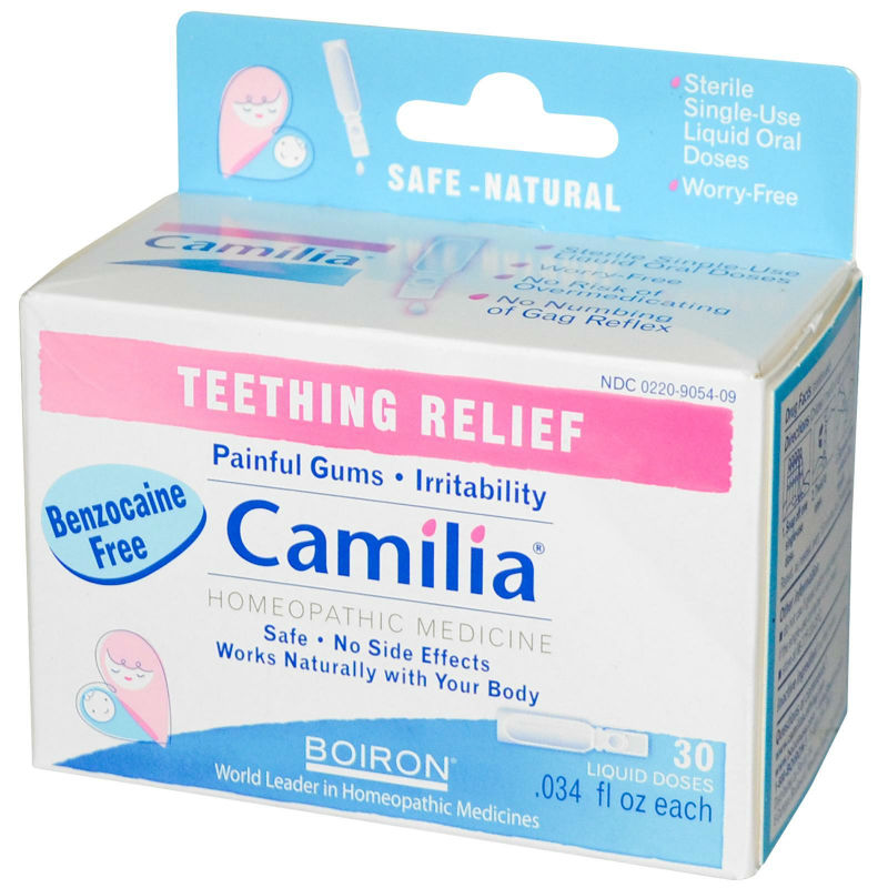Camilia Teething 30 dose, $9.05ea from BOIRON!