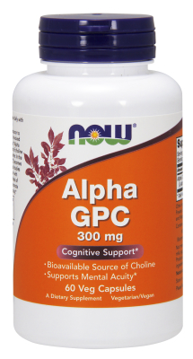 Alpha GPC 300mg, 60 Vcaps
