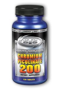 Supplement Training Systems: Chromium Picolinate 200mcg 120 Tablets